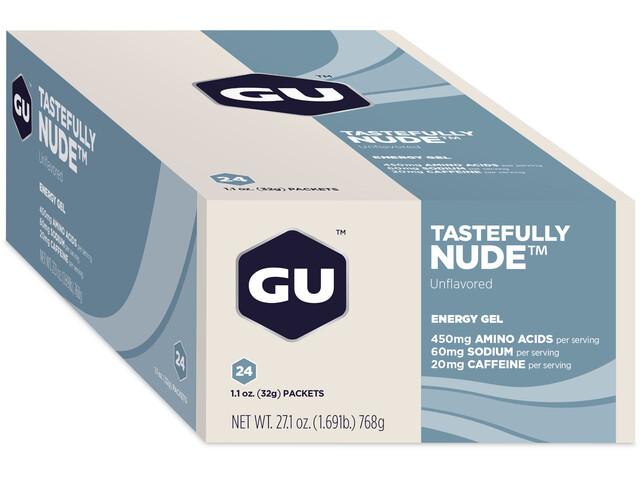 GU Energy Gel Box 24x32g, Tastefully Nude (2019) | Energy gels